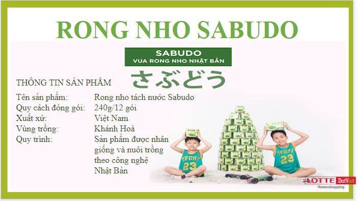 Giá rong nho Sabudo