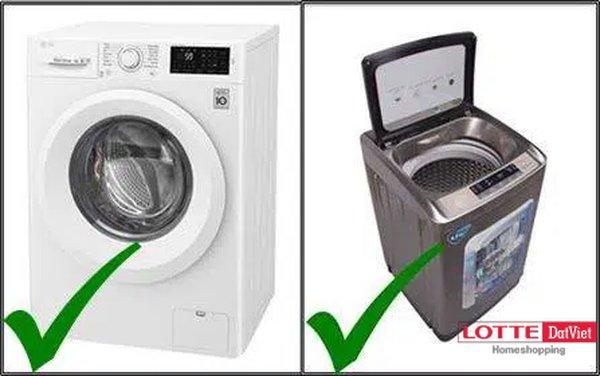 """Tiêu chí lựa chọn """"Máy giặt lồng đứng"""" hay """"Máy giặt lồng ngang"""""""