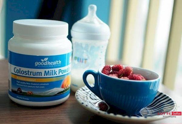 Sữa non tốt nhất cho trẻ sơ sinh